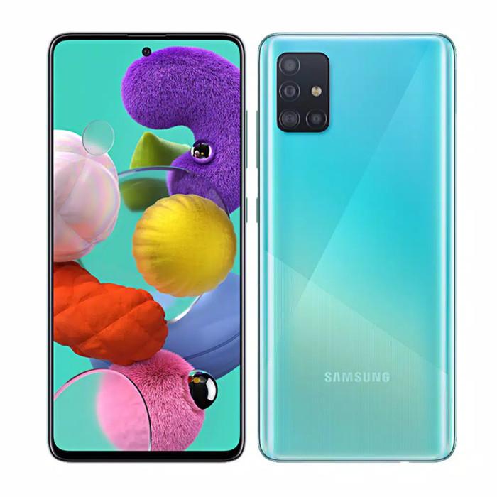 Foto Produk Samsung a51 ROM 6 internal 128 resmi Samsung indonesia - Hitam dari faqilla cell