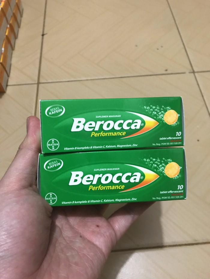 Foto Produk Berocca beroca performance 10 tablet dari winz-shop