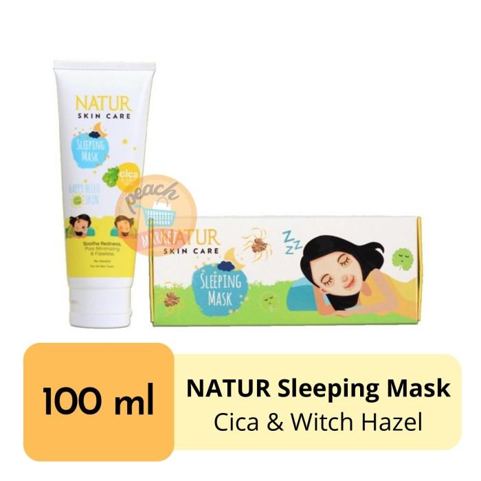 Foto Produk NATUR Sleeping Mask Cica 100ml dari Peachmarket_