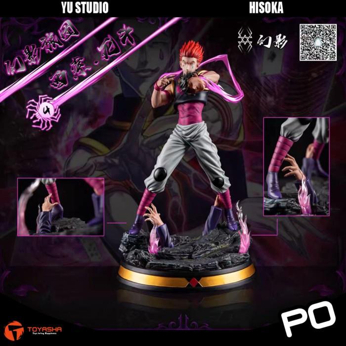 Jual Resin Action Figure Anime Hunter X Hunter Yu Studio Hisoka Jakarta Utara Toyasha Tokopedia