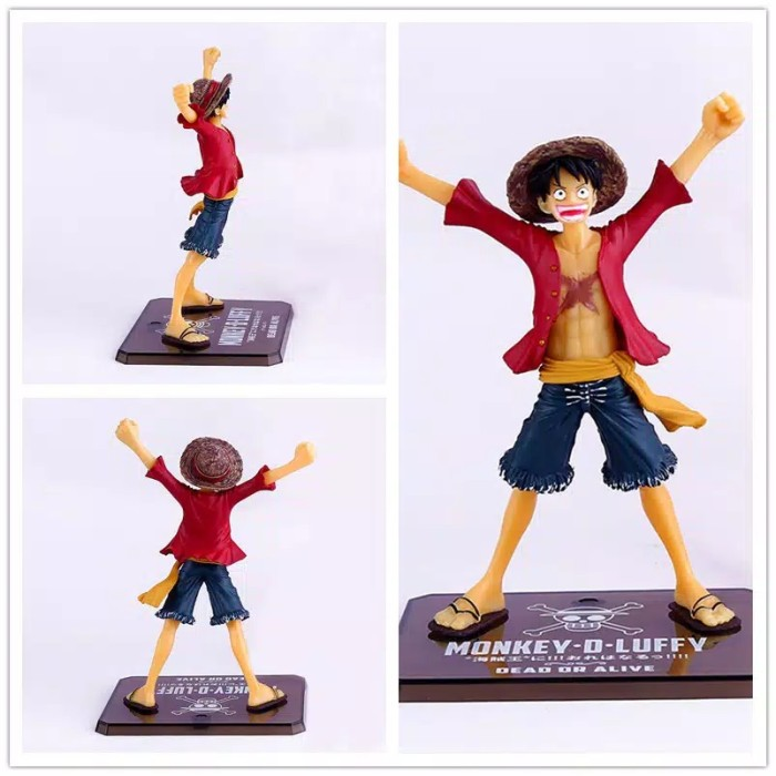 Foto Produk Action Figure One Piece Monkey D Luffy For The New World dari Rania Store16