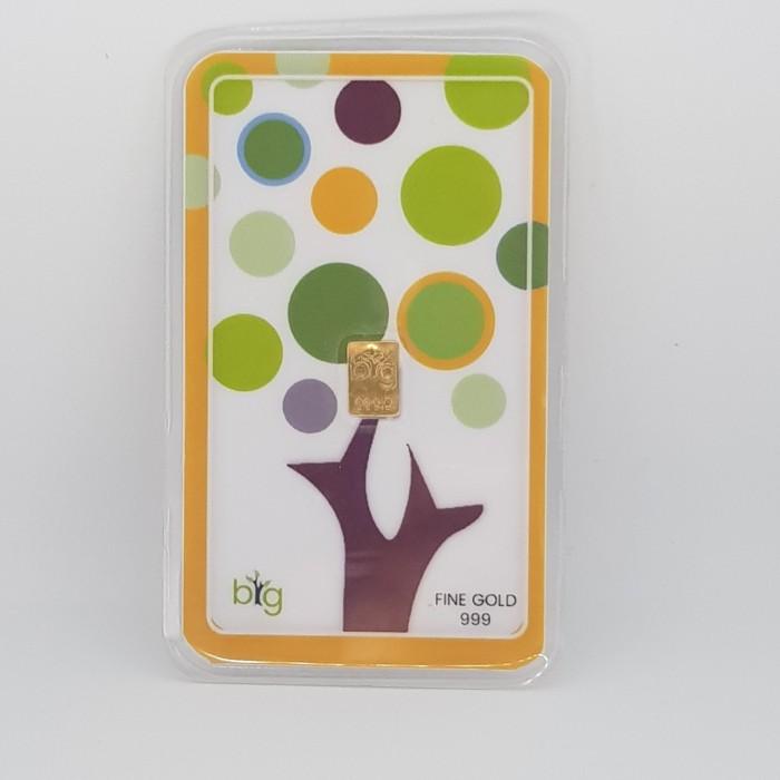 Foto Produk Emas 24K Mini/Mungil 0.1 gr - Polkadot dari maharani gold