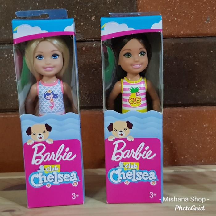 Foto Produk Boneka Barbie Mattel Chelsea Club Blonde Brunette Hair - BLONDE dari Mishana Shop