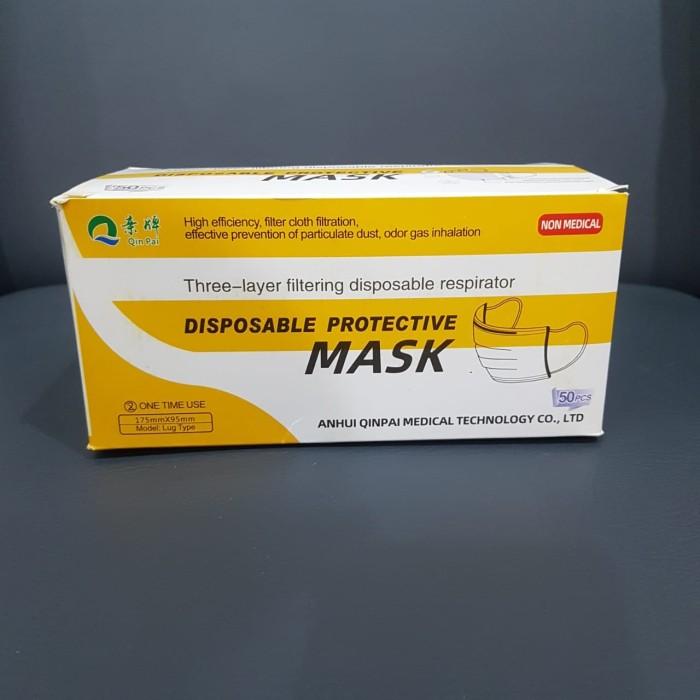 Foto Produk MASKER MEDIS 3 PLY MASKER 1 Pak (isi 50pcs) dari PhoneSeven