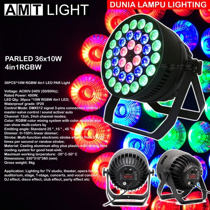 Foto Produk Parled 36x10W 4in1 RGBW PAR LED circle effects dari DUNIA LAMPU LIGHTING