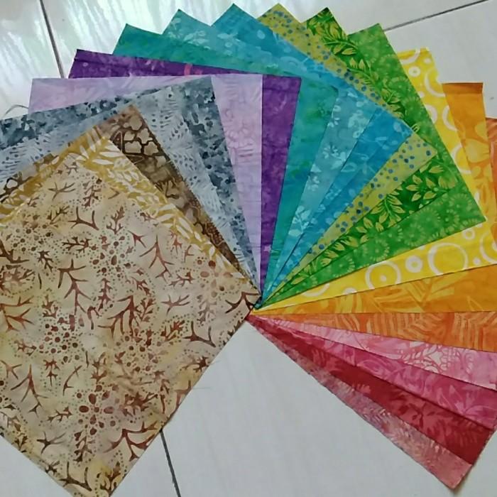 Jual Kain Perca Batik Uk 10x10 Inch Layer Cake Untuk Quilting Patchwork Kab Sidoarjo Mayaquilt Tokopedia