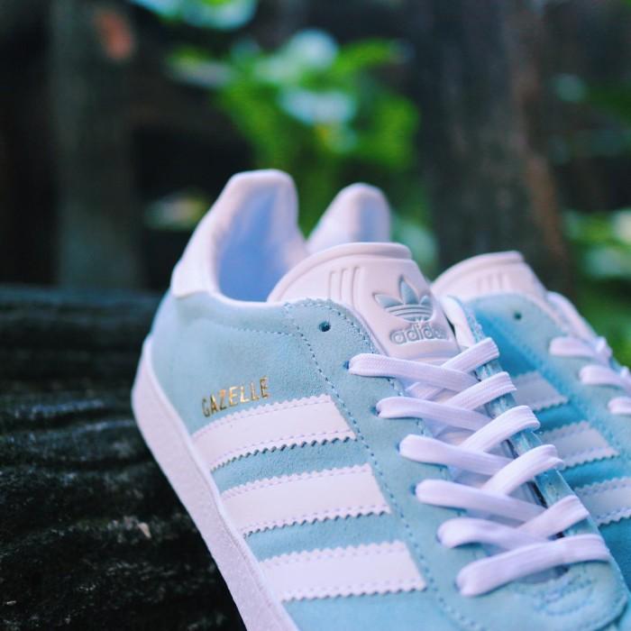Jual Adidas Gazelle Ice Blue Original