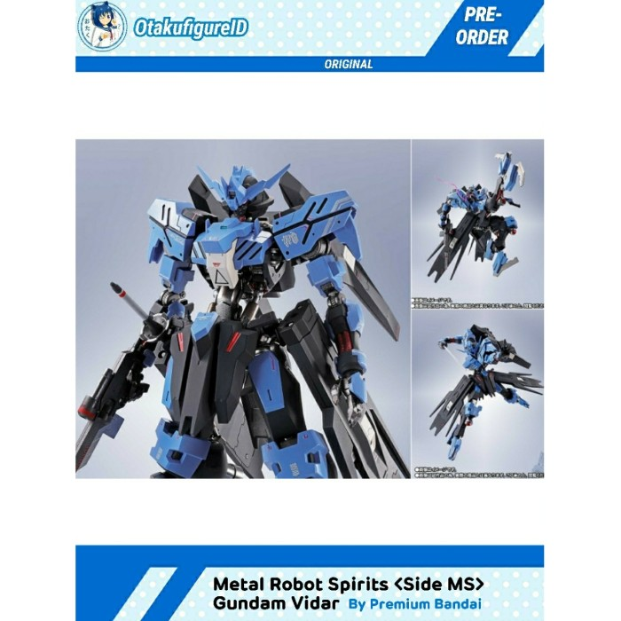 Jual Metal Robot Spirits Gundam Vidar Kota Cimahi Otakufigureid Tokopedia