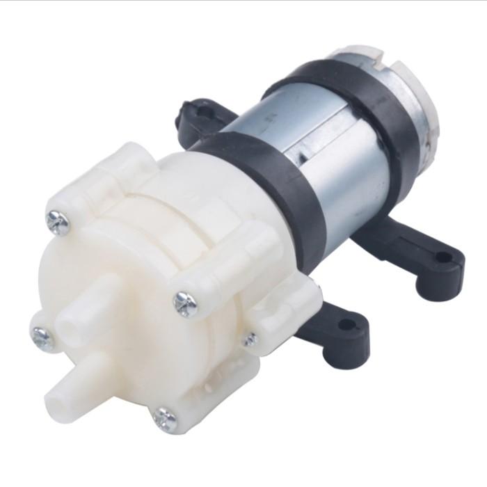 Foto Produk pompa air aquarium foodgrade DC 12V R385 dari GG outlet