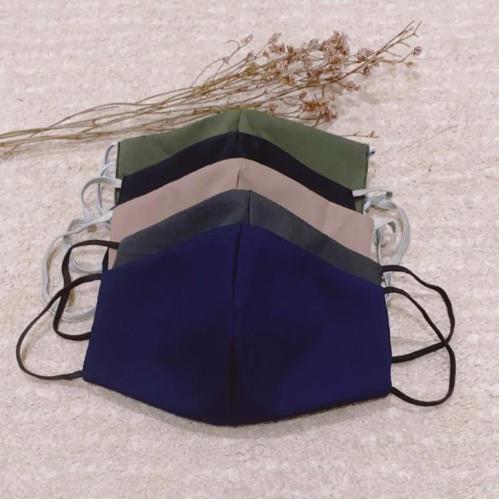 Foto Produk Masker kain bahan cotton high quality pastel series dari lovekarsten