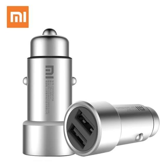 Foto Produk Original Car Charger/Charger Mobil Xiaomi Metal Design Dual USB dari ORIGINAL-ZONE