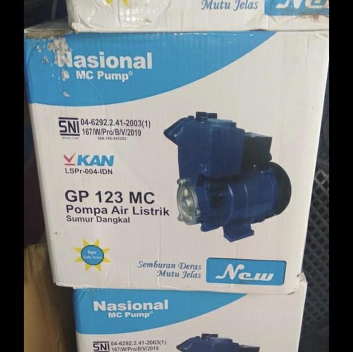 Jual Pompa air nasional mc 123 dan 125 watt gp 123 gp 125 ...