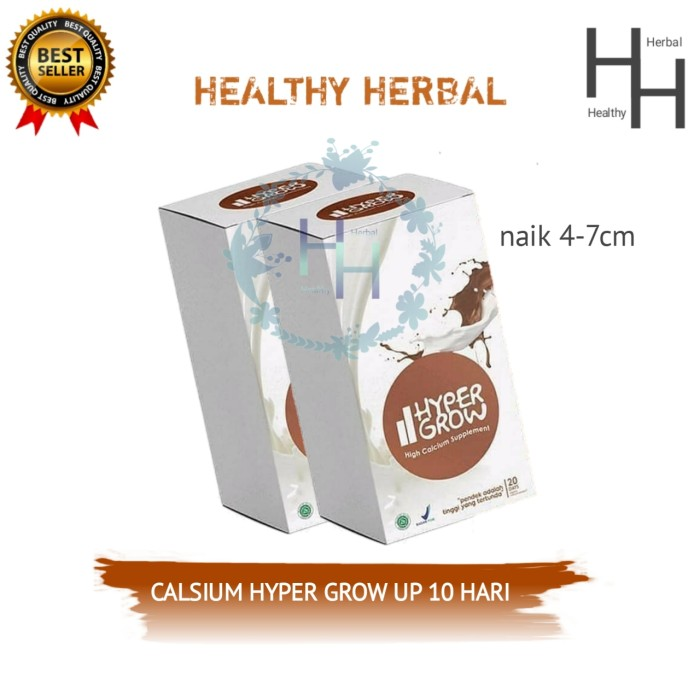 Foto Produk HYPER GROW ORIGINAL / SUSU PENINGGI BADAN ALAMI dari Healthy Herbal .