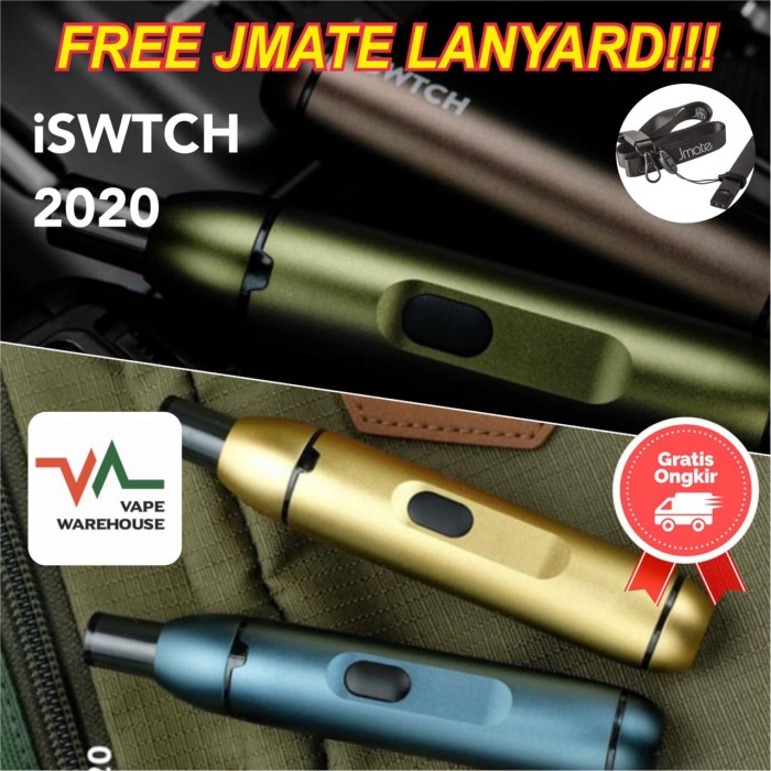 Foto Produk iSWTCH Pod Kit System (iswitch) 100% Authentic dari Vape WareHouse