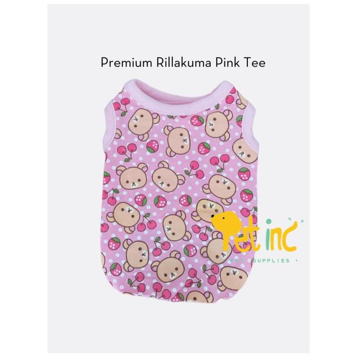 Foto Produk Premium Rillakuma Pink Tee - XS dari Pet8inc