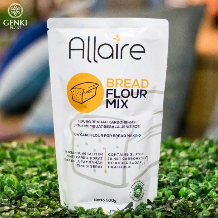Foto Produk Tepung Ketobetic - 500g (Bread Flour Mix) dari Genki Plant