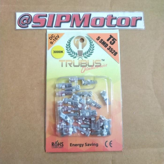 Foto Produk LED T5 5 Titik Kuning Trubus (Speedometer/Panel AC) dari SIPMotor