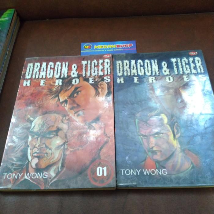 Foto Produk Komik Dragon & Tiger Heroes dari MEDANSHOP.net