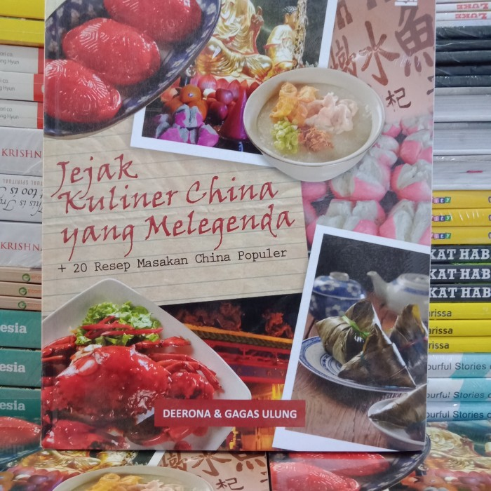 Jual Buku Resep Masakan Cina Jejak Kuliner China Yang Melegenda Kab Banyuwangi Tbuku Kita Tokopedia