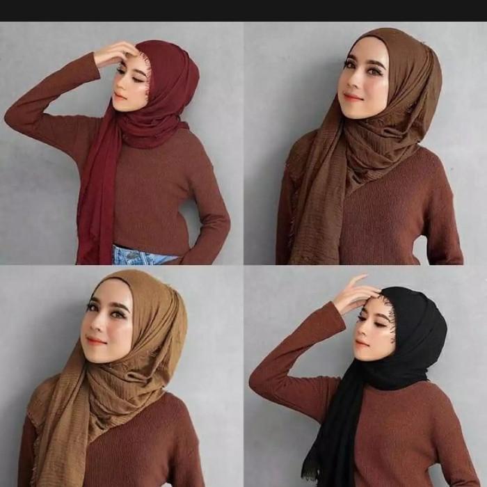 Jual Hijab Pashmina Arabian Wanita Jakarta Barat Nasrullahstore Tokopedia