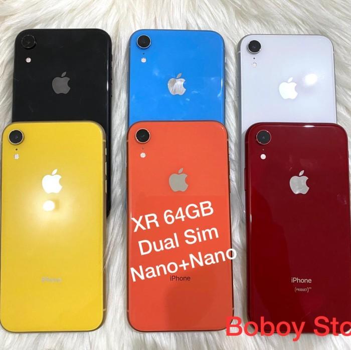 Foto Produk Iphone XR 64gb Duos Bekas Fullset - 64 gb, Merah dari Boboy Store