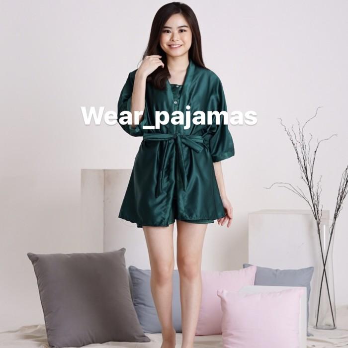 Foto Produk PIYAMA KIMONO 3in1 TERMURAH BEST COLOUR dari Wear Pajamas