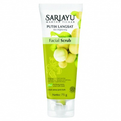 Foto Produk Sariayu Putih Langsat Facial Scrub 75 gr dari Qosmate