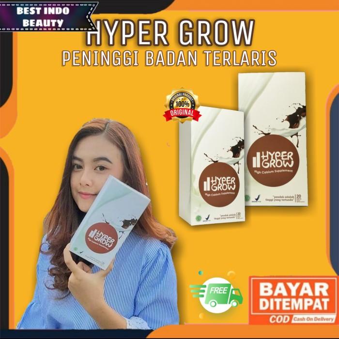Foto Produk HYPERGROW Peninggi Badan Cepat Hyper Grow Original PAKET M dari Best Indo Beauty
