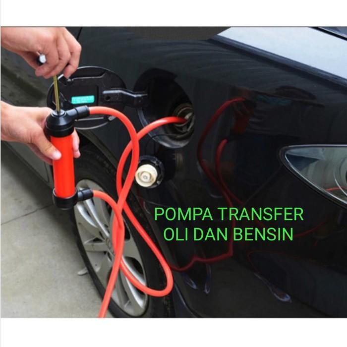 Foto Produk Pompa Transfer Bensin Oli sedot manual 5L/min dari GG outlet
