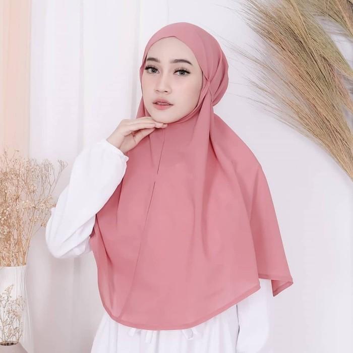 Jual Jilbab Bergo Maryam Murah Kuning Kunyit Kab Jepara Qiono Fashion Tokopedia