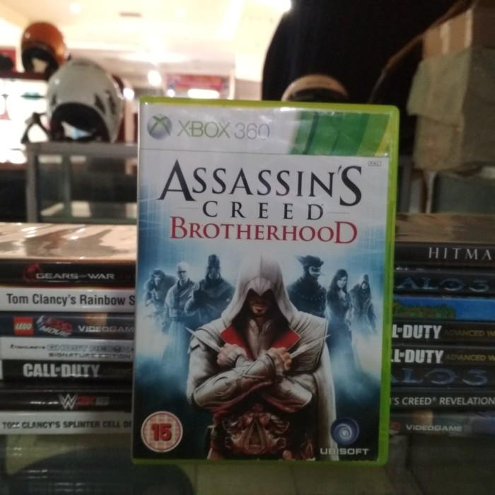 Jual Kaset Xbox 360 Original Game Assassins Creed Brotherhood