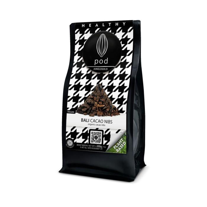 Foto Produk PODCHOCOLATE Cacao Nibs - 200g dari PODCHOCOLATE BALI
