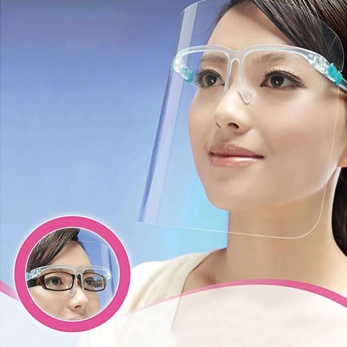 Foto Produk apd pelindung wajah face shield kacamata CORONA dari Violet Glamour