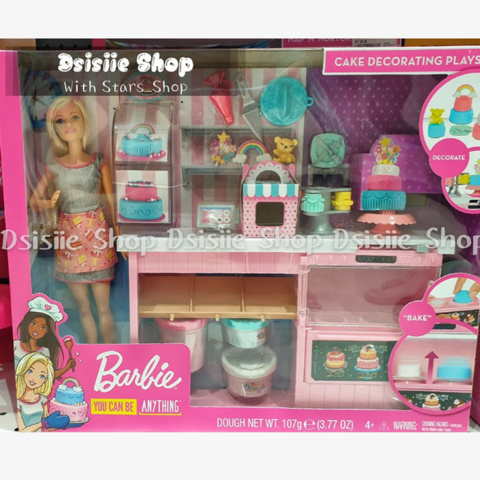 Jual Boneka Barbie Cake Decorating Playset Origin Mainan Barbie Masak Jakarta Utara Stars Shop Tokopedia