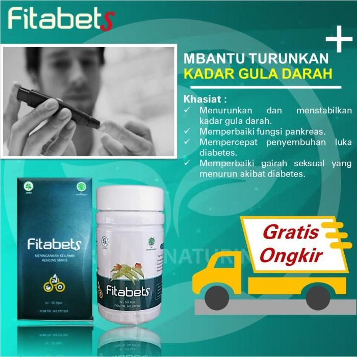 Foto Produk Obat Herbal Diabetes Fitabets Ampuh Normalkan Gula Darah Tinggi dari Haziq Imtiyaz Market