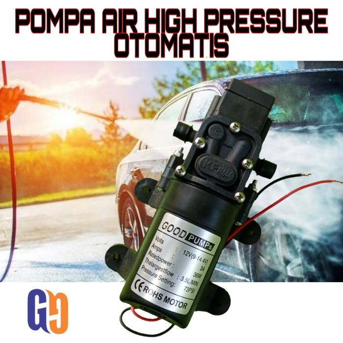 Foto Produk pompa air tekanan tinggi automatic high pressure pump cuci mobil motor dari GG outlet