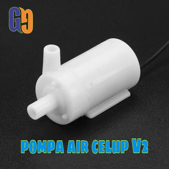 Foto Produk Pompa Air Celup DC V2 Mini Aquarium Hidroponik Submersible Pump dari GG outlet