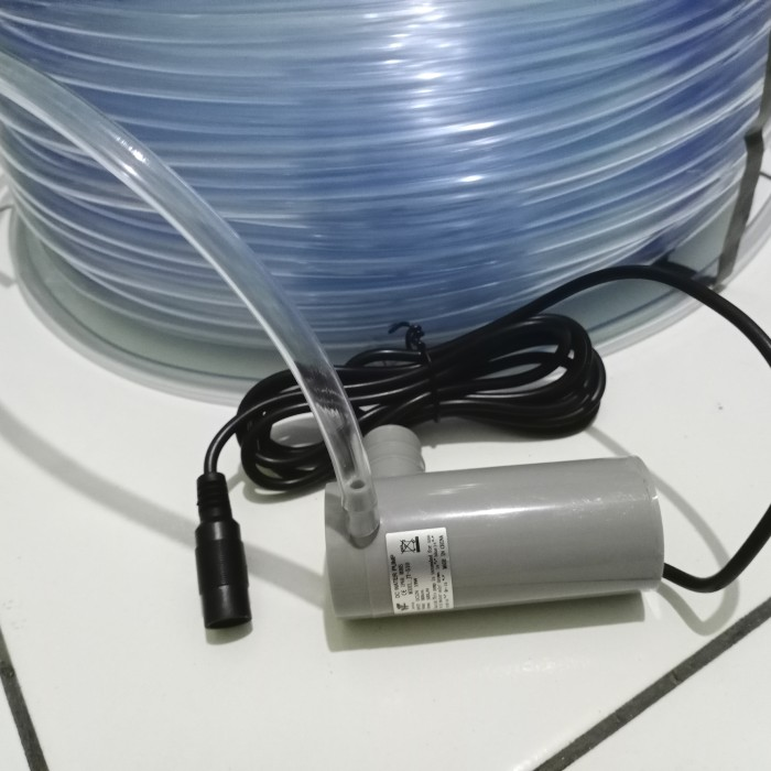 Foto Produk selang bening 1/4 untuk pompa jt 510 per meter dari GG outlet