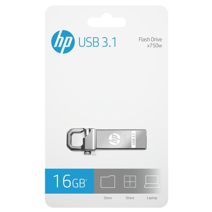 Foto Produk FLASHDISK HP USB 3.0 X750 - 16GB dari HP Storage Official