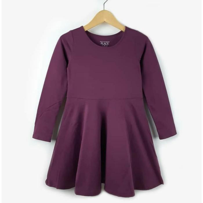 Foto Produk Dress Place Anak Cewek Maroon - 2 Tahun dari Kiosga Collection