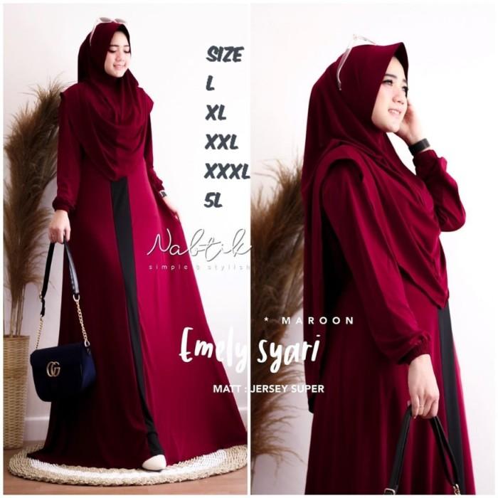 Foto Produk Gamis Syari Nabila Size XL XXL dari Gamis_Syari_Terbaru