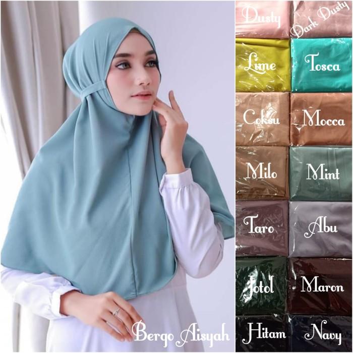 Jual Hijab Bergo Aisha Kab Magelang Najmamart Tokopedia