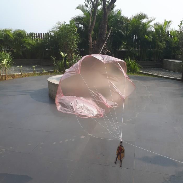 Foto Produk mainan jadul tempo dulu terjun payung dari kunojadoel