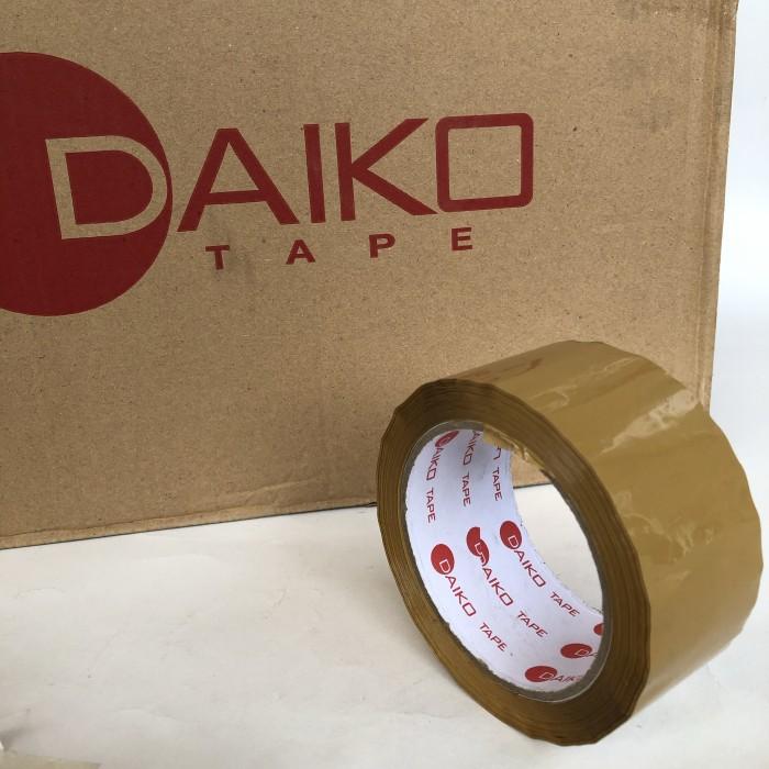 Foto Produk lakban coklat DAIKO 48mm x 100y [1 box = 72 pcs] dari Toko LuShan