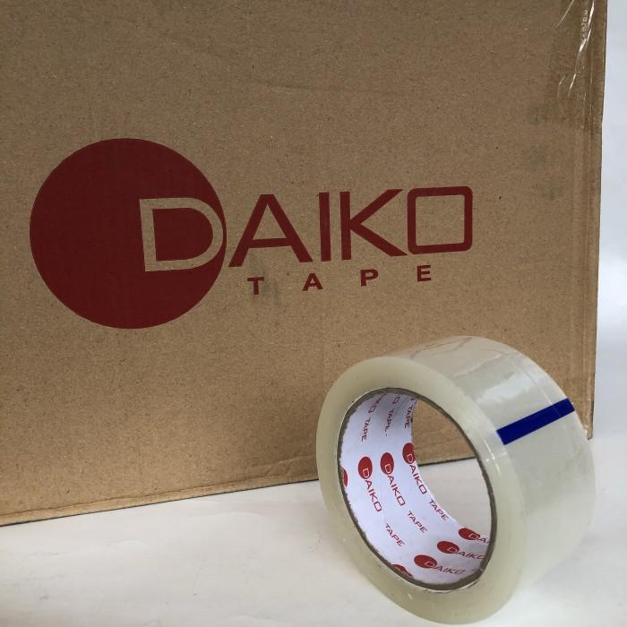 Foto Produk lakban bening DAIKO 48mm x 100y [1 box = 72 pcs] dari Toko LuShan