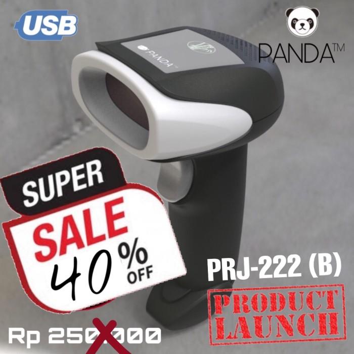 Foto Produk Barcode Scanner Laser Tangan 1D PANDA PRJ-222 (B) USB best for JNE-JNT dari PANDA RETAIL SOLUTIONS