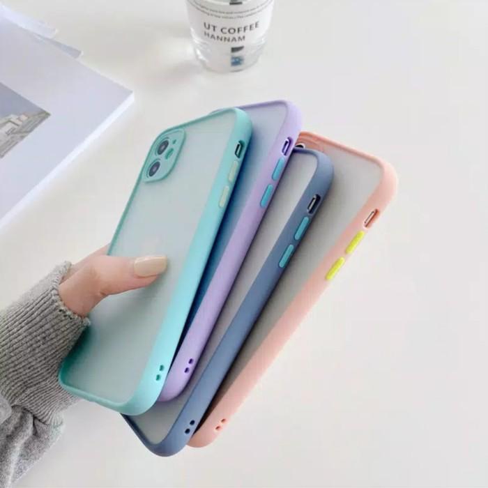 Foto Produk Case iphone 6 6+ 7 8 7+ 8+ x xs xr xs max 11 11 pro 11 pro max se 2020 - Purple, Ip Xr dari 7phone-id