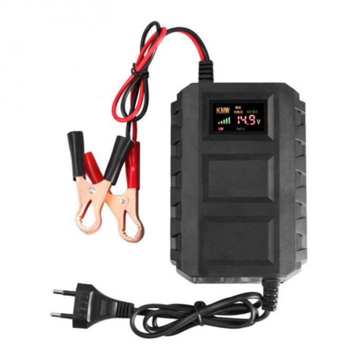 Foto Produk Charger Aki Mobil CA2 Smart Battery Charger 12V20A Cas Aki protable dari GG outlet