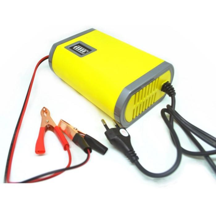 Foto Produk charger aki motor mobil CA1 cas aki 12V 6A batrey charger dari GG outlet