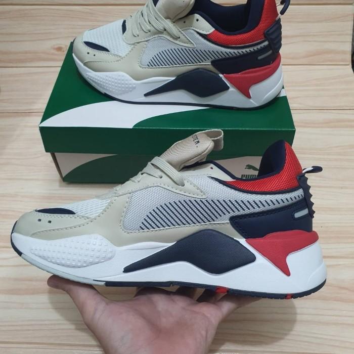 Jual Sepatu Puma RS-X Hard Drive White